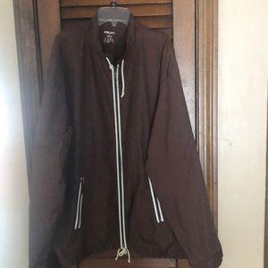 Finish line athletic windbreaker jacket